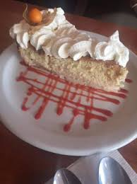 tres leches cake mouth watering picture of the mexican