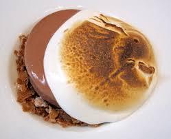 cuisine marquise valrhona chocolate marquise with hazelnut marshmallow and chocolate