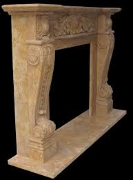 beige marble fireplace stone mantel china arafen