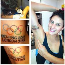 olympic rings women images Olympic ring tattoos new 2 tats jpg