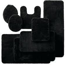 Black Bathroom Rug Royal Velvet Bath Rugs Black Bathroom Rug Set 5 Royal