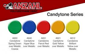 a handy guide to what colors you can use to jazz up your ride