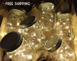 Mason Jar String Lights Mason Jar Lights Etsy