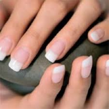 white tip gel nail extensions pretty nails pinterest gel
