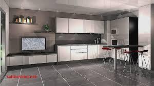 cuisine blanche carrelage gris carrelage sol cuisine blanc brillant pour idees de deco blanche gris