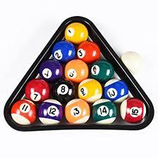 mini pool table academy amazon com dad 5ive usa mini pool balls set 1 5 inch billiard