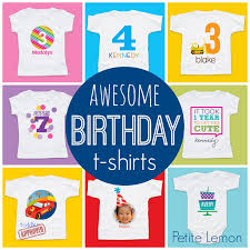 toddler approved personalized birthday t shirts from lemon