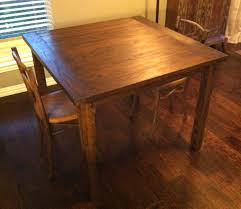 simple oak dining table the grain