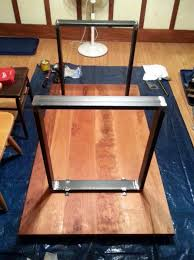attaching legs to a table how to build a kitchen table in an assortment of easy steps