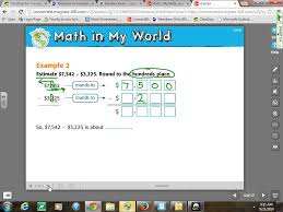 Mcgraw Hill Math Worksheets Estimating Addition And Subtraction Youtube