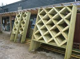 decorative trellis panels rustic trellis made to order 414 timber and fencing