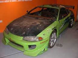 mitsubishi eclipse fast and furious mitsubishi eclipse from the film the fast and the furious flickr