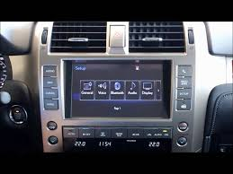 lexus used barrie lexus gx menu and home screen overview youtube