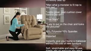 stretch sofa slipcover 2 piece serta 2 piece stretch grid t sofa slipcover putty youtube