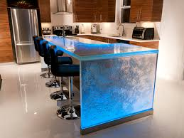 Kitchen Surfaces Materials How To Make Concrete Countertops Look Like Granite Curved