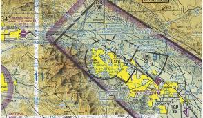 Palm Springs Map Palm Springs Kpsp Flying California