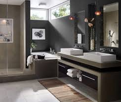 Black White And Gray Bathroom Ideas - small grey bathroom designs wall mounted square clear glass mirror