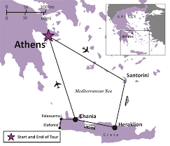 Greek Map Sights And Soul Travels Greece Athens And The Greek Isles