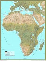 africa map atlas national geographic africa atlas wall map maps
