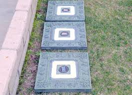 Lowes Concrete Walkway Molds by Garden Stepping Stones Lowes Walkway Stones Patio Pavers Lowes