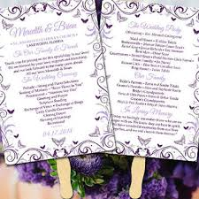 diy wedding program fan template wedding program fans products on wanelo