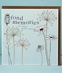 sympathy card fond memories sympathy cards molly mae sympathy cards