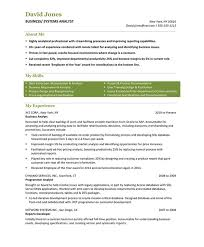 Systems Analyst Resume Example by Business Analyst Resume Samples U0026 Examples