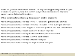 sample cover letter for help desk support