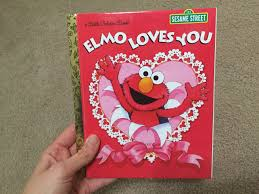 elmo valentines elmo you s day book sesame bedtime readers