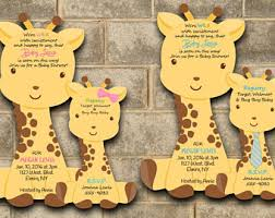 giraffe baby shower ideas giraffe baby shower etsy
