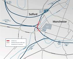 Map Of Manchester England by Ordsall Chord Network Rail
