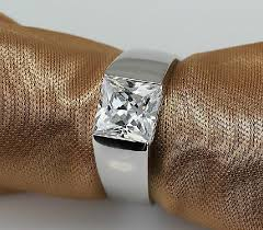 men rings prices images Fantastic 2ct halo princess cut silver male rings for men 925 jpg