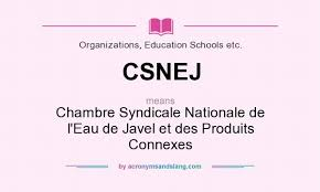 chambre syndicale nationale de l eau de javel what does csnej definition of csnej csnej stands for