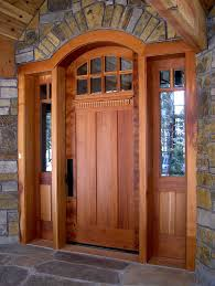 wooden craftsman style front doors find out special