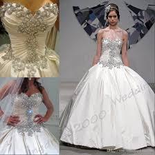 classic pnina tornai ball gown taffeta beading crystals sweetheart