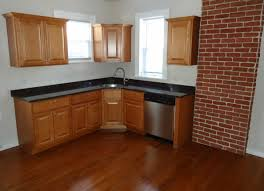 kitchen cabinets designs for small kitchens with black counter