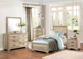 Twin Bedroom Set by Lonan 1955t 1 4pc Industrial Rustic Sun Bleached Wood Twin Bedroom Set