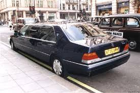 mercedes s500 1996 london1999 1996 jankel mercedes s500 limo rear picture
