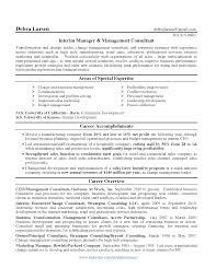 Management Consulting Resume Resume Samples Management Consultant