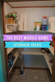 giving you the best mobile home storage ideas for every area in
