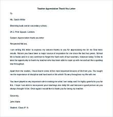 35 thank you letter template