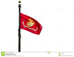 Flag Corps U S Marine Corps Flag Stock Illustration Illustration Of Culture