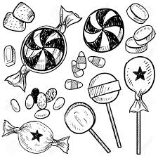 halloween line art hard candy cliparts free download clip art free clip art on