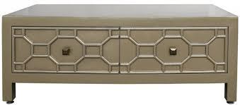 buy richard gold geometric wood 2 drawer coffee table cfs uk