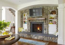 Hearth Cabinets Fire Hearth Ideas Family Room Traditional With Stone Fireplace