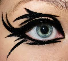Halloween Devil Eye Makeup Circus Make Up Wow This Takes Practice And Courage Love It I