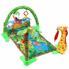 fisher price rainforest music and lights deluxe gym playset baby infant play mat rainforest musical gym melodies lights deluxe