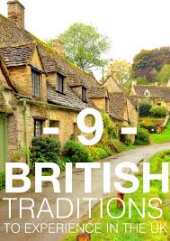 9 uniquely traditions you must experience in the uk