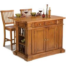 glamorous distressed oak kitchen island with distressed counter