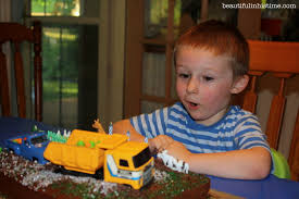 ezra u0027s little blue truck 3rd birthday party